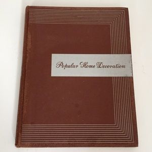 1940 Interior Design Book Popular Home Decoration
